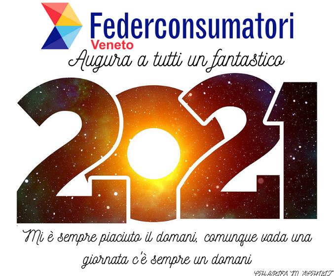Federconsumatori augura a tutti un fantastico 2021