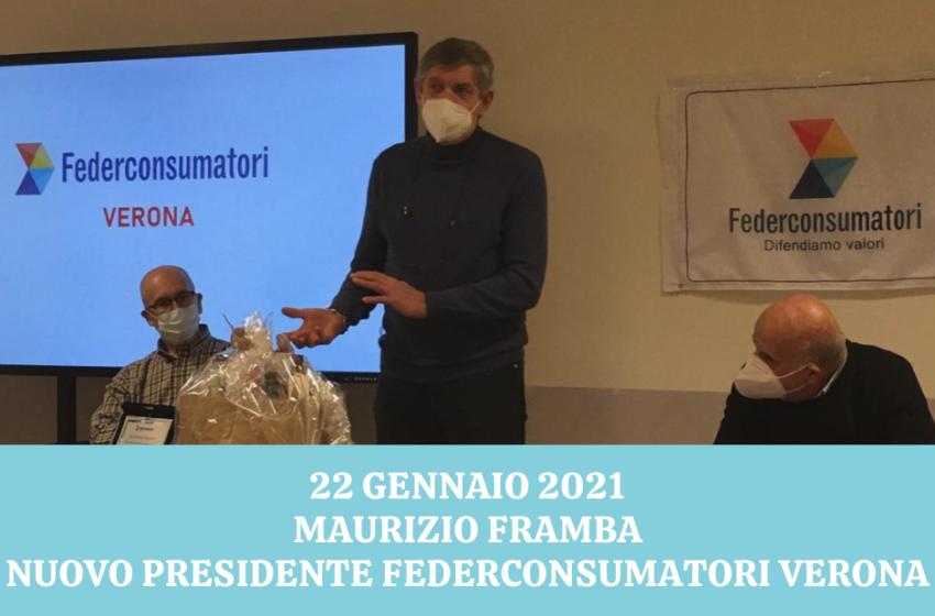 Nuovo Presidente per Federconsumatori Verona: Alberto Mastini lascia il posto a Maurizio Framba
