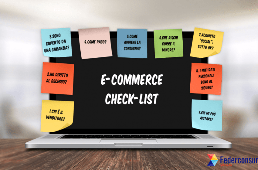 Ecommerce check-list