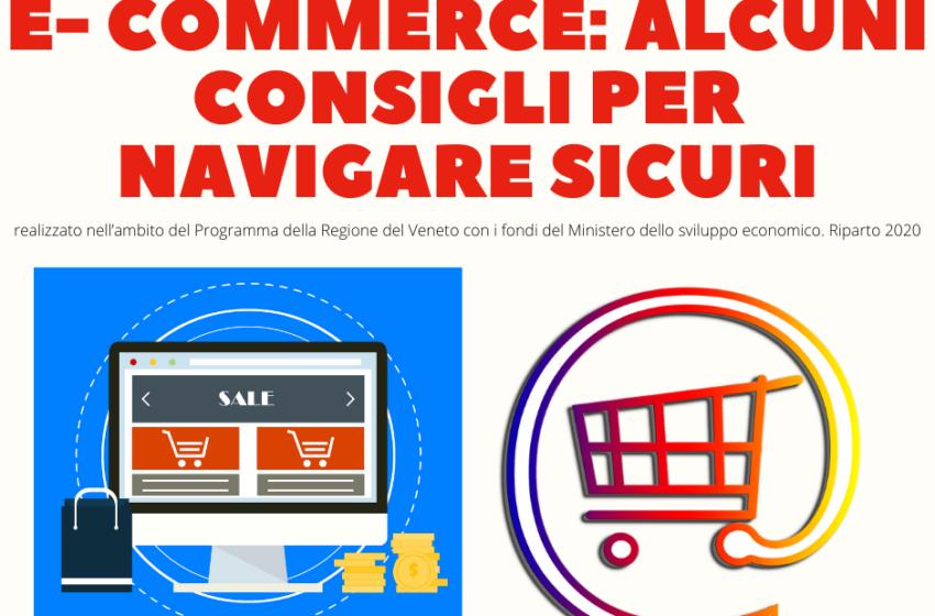 E- commerce: alcuni consigli per navigare sicuri