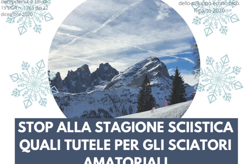 Stop alla stagione sciistica: quali tutele per gli sciatori amatoriali