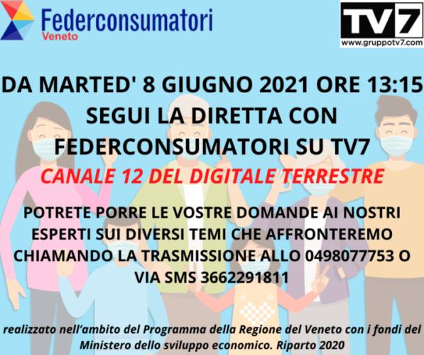 Da martedì 8 giugno iniziano le nostre dirette su TV7