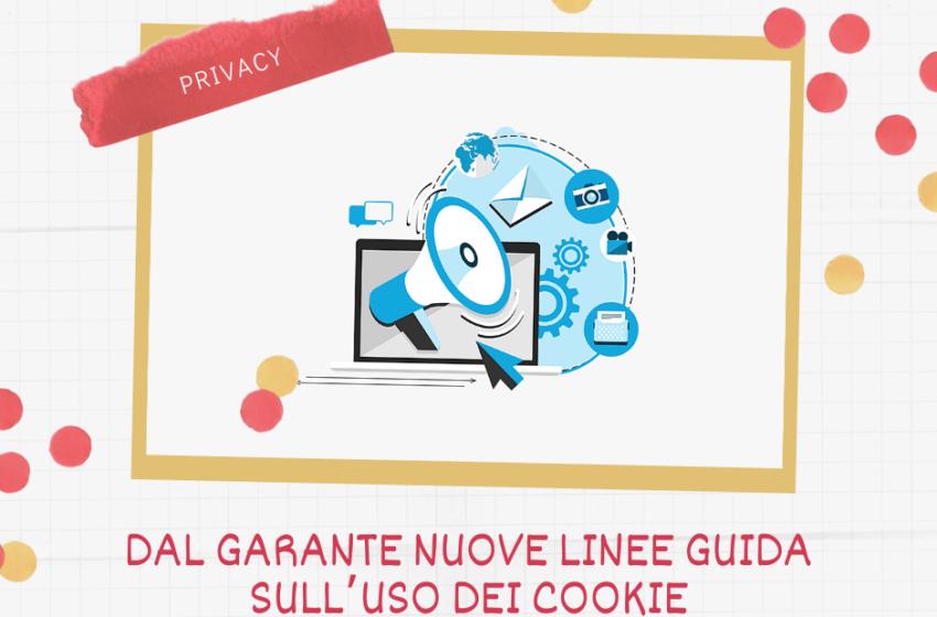 Privacy: dal Garante nuove linee guida sull'uso dei cookie, a tutela degli utenti del web
